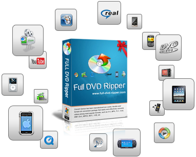 Full DVD Ripper 9 Pro-A smart video convrter